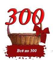 Всё по 300