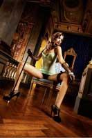 BL263 Mafia Мини-платье OS (42-46), бирюзовый