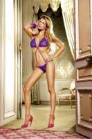 BL099 Barbie Боди OS (42-46), фиолетовый