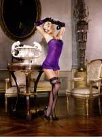 BL245 Mafia Мини-платье OS (42-46), фиолетовый