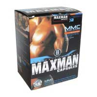 Maxman II 60 капсул возбуждающие таблетки, увеличивают член