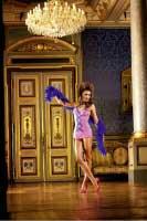 BL293 NeonBarock Мини-платье OS (42-46), неоновый розовый