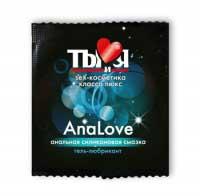 Ты и Я AnaLove (силиконовая анальная смазка с обезболиванием)