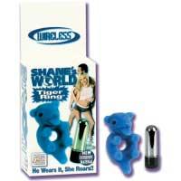 Кольцо с вибро-пулькой TIGER RING 0878-10 BX SE