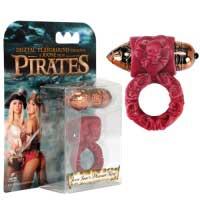 Пиратское красное колечко JESSE`S RED PLEASURE RING-0011