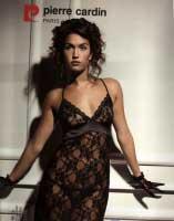 Черное кружевное платье  от Pierre Cardin