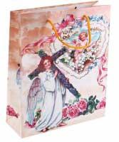 Пакет ламинат ML ангел в белом