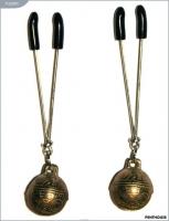 Зажимы для груди с колокольчиками