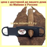 Ножницы для сигар Cuba (max d=54), углеродистая сталь и прочная
