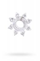 Прозрачное гелевое эрекционное кольцо  818002-1