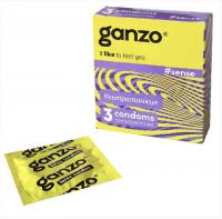 Презерватив GANZO SENSE тонкий 1 штука (без коробки)